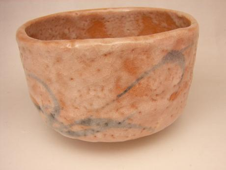 JAPANESE 20TH CENTURY SHINO TEA BOWL<br><font color=red><b>SOLD</b></font>