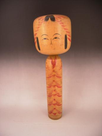 JAPANESE 20TH CENTURY ARTIST SIGNED KOKESHI DOLL<br><font color=red><b>SOLD</b></font>