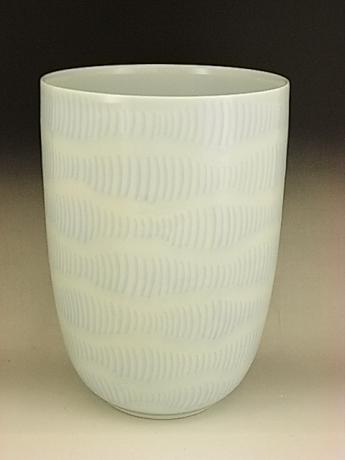 JAPANESE 20TH CENTURY VASE BY LNT INOUE MANJI<br><font color=red><b>SOLD</b></font>