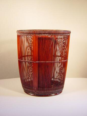 BAMBOO FLOWER BASKET (was Living National Treasure)<br><font color=red><b>SOLD</b></font>