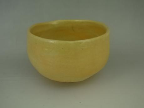 JAPANESE 20TH CENTURY EARTHENWARE TEABOWL BY SASAKI NIROKU