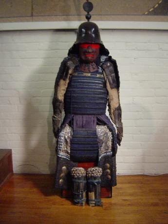 LATE 18TH CENTURY SUIT OF ARMOR