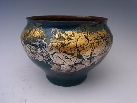 JAPANESE 20TH CENTURY CLOISONNE VASE BY TANAKA TERUKAZU<br><font color=red><b>SOLD</b></font>