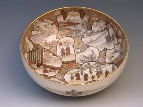 JAPANESE EARLY 20TH CENTURY SATSUMA BOWL