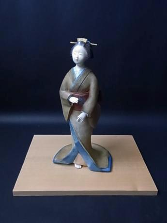 JAPANESE 20TH-21ST CENTURY DOLL MADE BY ISAKA YOSHIE