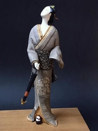 JAPANESE 20TH CENTURY DOLL BY NAOKO