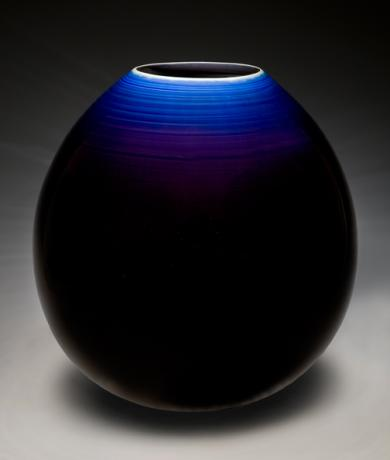 JAPANESE 20TH CENTURY LARGE VASE BY LNT TOKUDA YASOKICHI III