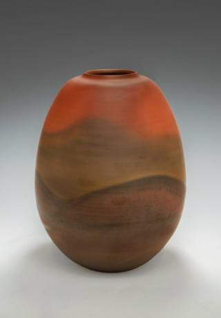 JAPANESE LATE 20TH CENTURY (1980) LARGE VASE BY KATO AKIKAGE