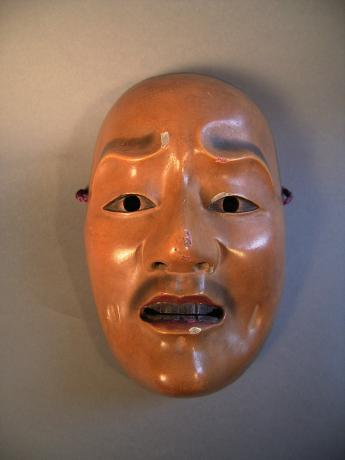 19TH CENTURY MASK<br><font color=red><b>SOLD</b></font>