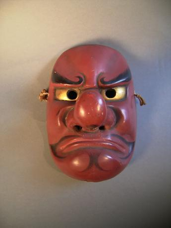 C. 1900 TENGU STAGE MASK<br><font color=red><b>SOLD</b></font>