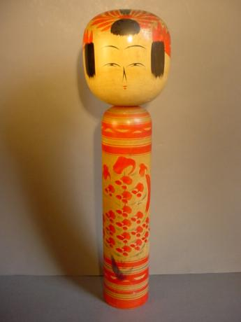 JAPANESE MID 20TH CENTURY YAMAGATA KOKESHI DOLL<br><font color=red><b>SOLD</b></font>