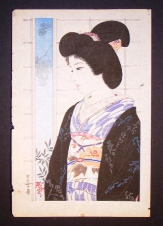 JAPANESE EARLY 20TH WOODBLOCK PRINT