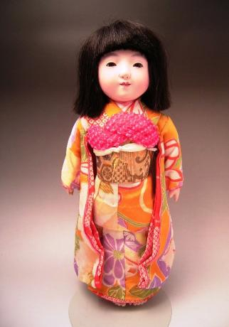 JAPANESE 20TH CENTURY ICHIMATSU DOLL<br><font color=red><b>SOLD</b></font>