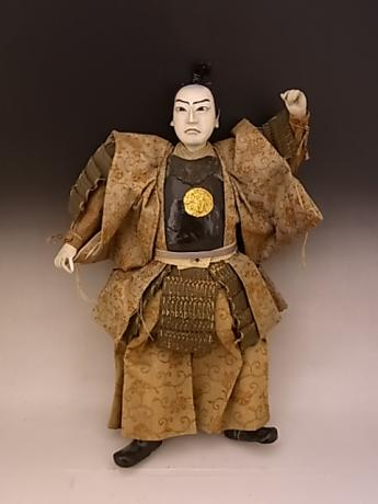 JAPANESE MEIJI PERIOD SAMURAI DOLL<br><font color=red><b>SOLD</b></font>