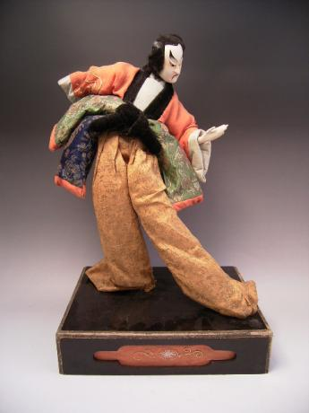 JAPANESE LATE EDO - EARLY MEIJI PERIOD TAKEDA DOLL<br><font color=red><b>SOLD</b></font>