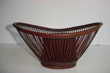 BAMBOO FLOWER BASKET<br><font color=red><b>SOLD</b></font>