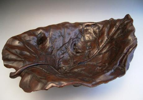 JAPANESE CIRCA 1900 NATURAL BOXWOOD BOWL/TRAY