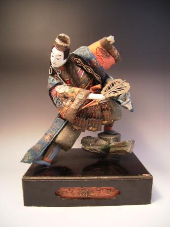 JAPANESE 19TH CENTURY TAKEDA DOLL<br><font color=red><b>SOLD</b></font>