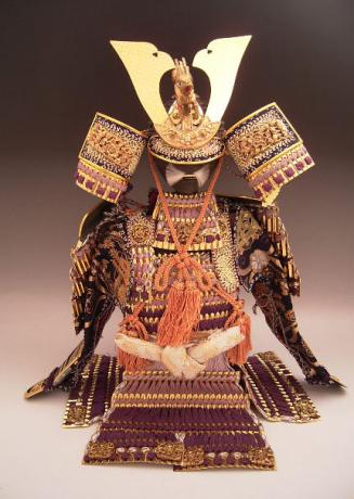 JAPANESE 20TH CENTURY BOY'S DAY SAMURAI ARMOR SET<br><font color=red><b>SOLD</b></font>