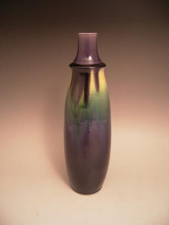 JAPANESE 20TH CENTURY PORCELAIN VASE BY LIVING NATIONAL TREASURE TOKUDA YASOKICHI III<br><font color=red><b>SOLD</b></font>