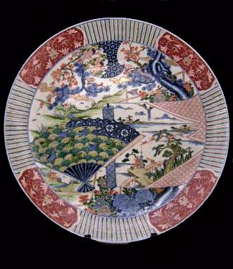 LARGE 19TH CENTURY IMARI CHARGER