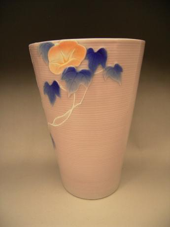 JAPANESE EARLY 20TH CENTURY KORANSHA VASE<br><font color=red><b>SOLD</b></font>