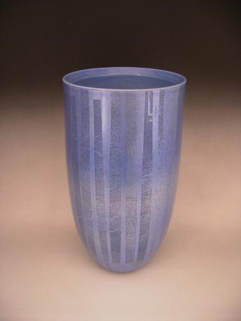 JAPANESE 20-21ST CENTURY KUTANI VASE BY NAKATA KAZUO<br><font color=red><b>SOLD</b></font>